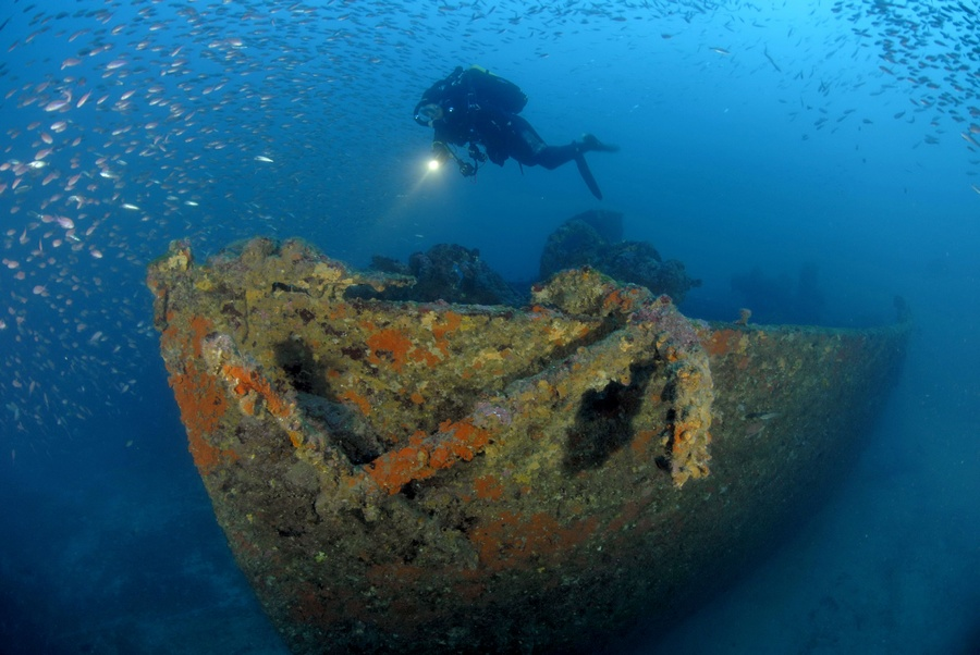 European Diving School | Wrack- und Rifftauchen in Südfrankreich an